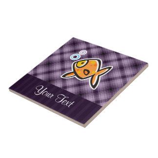 Purple Goldfish Tiles