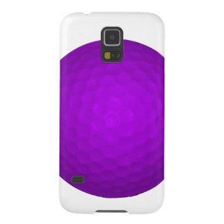 Purple Golf Ball Case For Galaxy S5