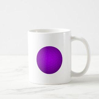 Purple Golf Ball Coffee Mug