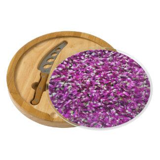 Purple Gomphrena Cheese Platter