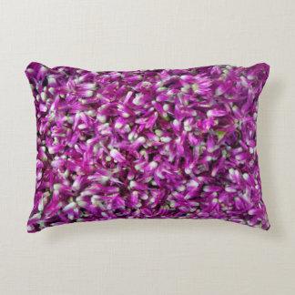 Purple Gomphrena Decorative Pillow