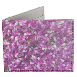 Purple Gomphrena Tyvek Wallet