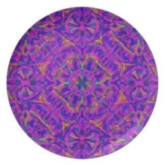 Purple Goth Mexicana Plate