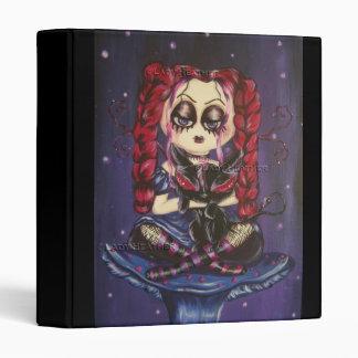 Purple Gothic Fairy Binder