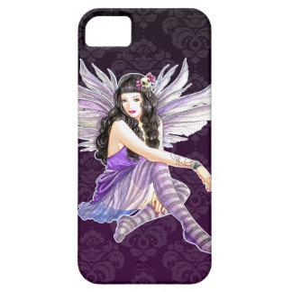 Purple Gothic Fairy Damask iPhone 5 Custom Case iPhone 5 Covers