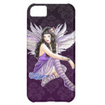 Purple Gothic Fairy Damask iPhone 5 Custom Case Case For iPhone 5C