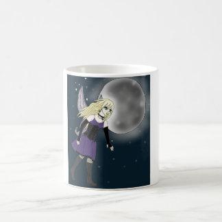 Purple Gothic Fairy White 11 oz Classic White Mug