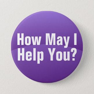 Purple Gradient Wave Help You Button