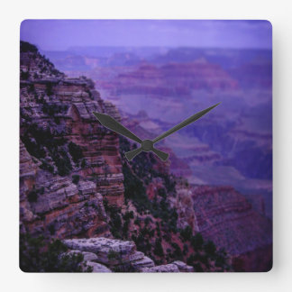 Purple Grand Canyon Clock