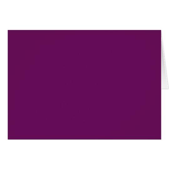 Purple grape card