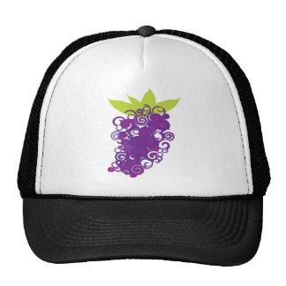 Purple Grape Design Trucker Hat