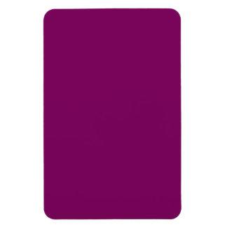 Purple grape rectangular magnets