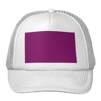 Purple grape trucker hat