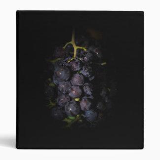 Purple Grapes Avery Binder