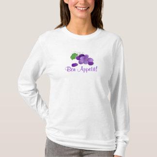 Purple Grapes Bon Appetit Tshirt
