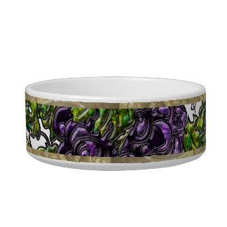Purple Grapes Bowl
