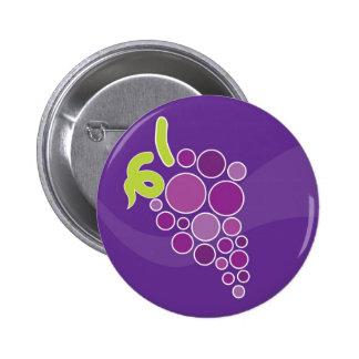 Purple Grapes Button