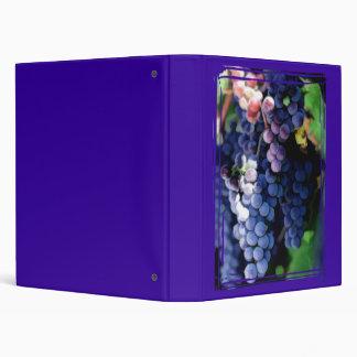 Purple Grapes Cluster Binders