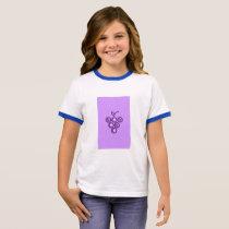 Purple grapes ringer T-Shirt