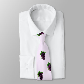 Purple Grapes Tie