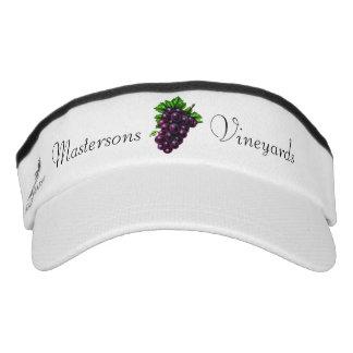 Purple Grapes Visor