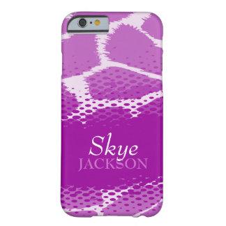 Purple graphic animal iPhone 6 case