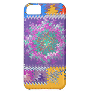 Purple Graphics - keep U warm and excited in life Case For iPhone 5C