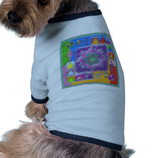 Purple Graphics - keep U warm and excited in life Pet Clothing