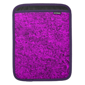 Purple grass sleeves for iPads