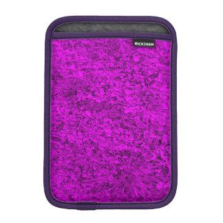 Purple grass iPad mini sleeve