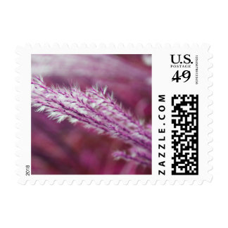 Purple Grass Stamp