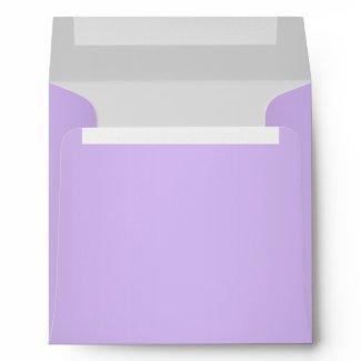 Purple Grey Linen Envelopes
