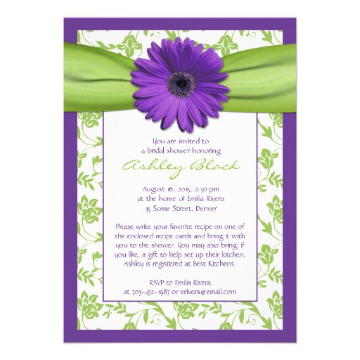 and green wedding stationary wedding invitations stamps announcments ...