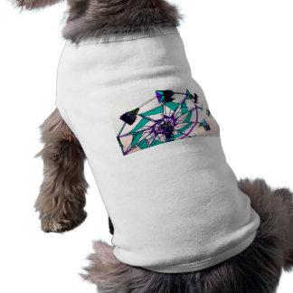 purple green fair ride flying midway dog tshirt