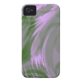Purple Green Fractal Art Blackberry Phone Case Case-Mate iPhone 4 Case