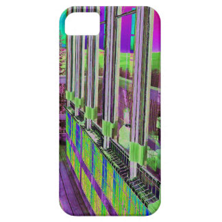 Purple Green Lookout iPhone 5 Cover