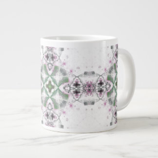Purple Green Medallion Mug