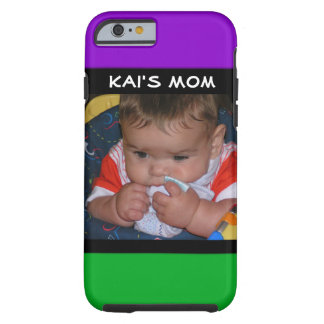 Purple & Green Mommy Phone Case with Photo