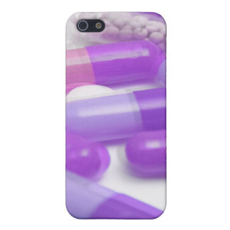 Purple Green Pills iPhone Case Covers For iPhone 5