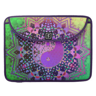 Purple Green Rainbow New Age Laptop Sleeve