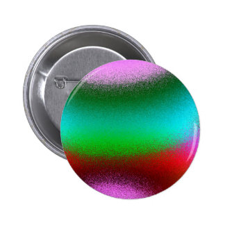 Purple Green Red Abstract Button