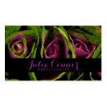 Purple Green Salad Nutritionist Business Card