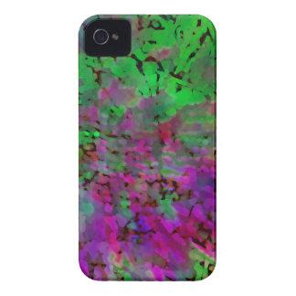 Purple & Green Tie Dye iPhone 4 Cover
