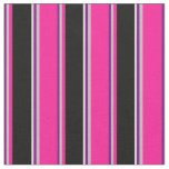 [ Thumbnail: Purple, Grey, Deep Pink, Black, and Light Cyan Fabric ]