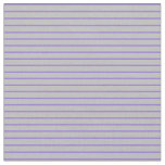 [ Thumbnail: Purple & Grey Striped/Lined Pattern Fabric ]