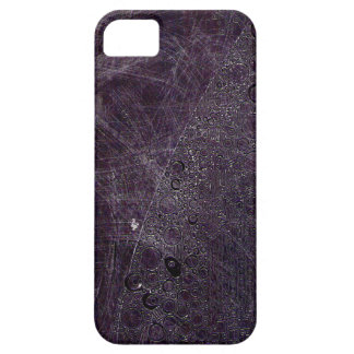 Purple grit with pink lines & scribbles iPhone SE/5/5s case