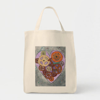 purple Grocery Tote