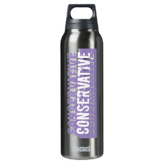 Purple Grunge Conservative 16 Oz Insulated SIGG Thermos Water Bottle