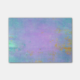 Purple Grunge Distressed Texure Post-it Notes