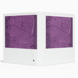 Purple grunge fabric background type design binder